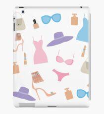 Fashion accessories pattern. iPad Case/Skin