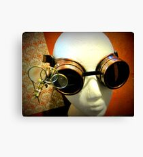 Steampunk Goggles 1.0 Canvas Print