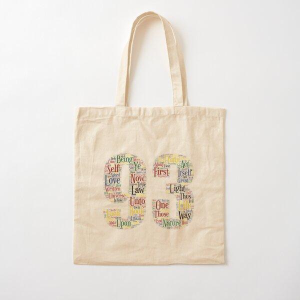 93 - Liber CL: LLLLL Cotton Tote Bag