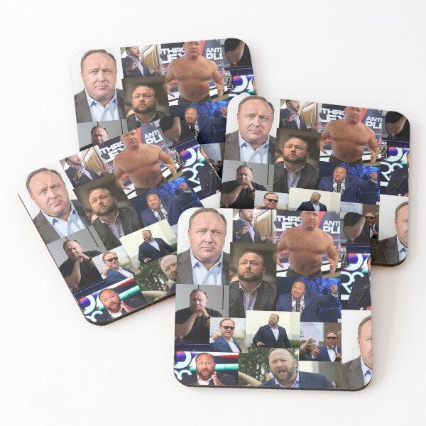 alex jones Coasters (Set of 4)