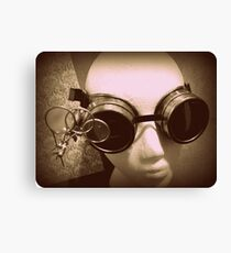 Steampunk Goggles 1.1 Canvas Print