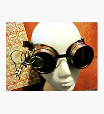 Steampunk Goggles 1.2 Photographic Print