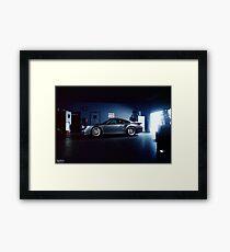Garage Porsche  Framed Print
