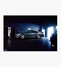 Garage Porsche  Photographic Print