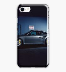 Garage Porsche  iPhone Case/Skin