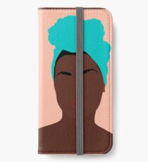 Ava iPhone Flip-Case/Hülle/Skin