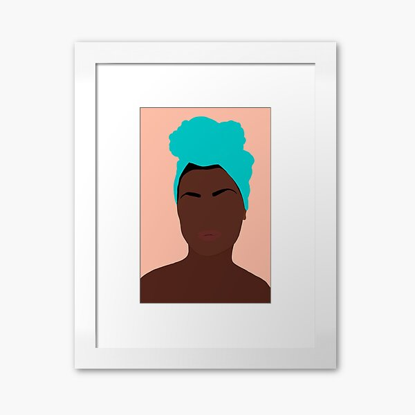 Ava Framed Art Print