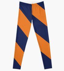 Champaign Urbana Illinois Blue and Orange Leggings