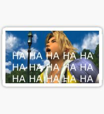 Tidus Likes To Laugh Sticker