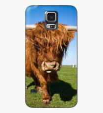 Highland Moo! Case/Skin for Samsung Galaxy