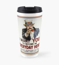 Zimbardo - I Want You to Become an Everyday Hero Travel Mug