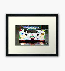 Mazda at Lemans  Framed Print