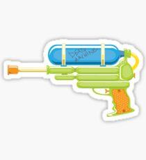 Squirt Gun Sticker