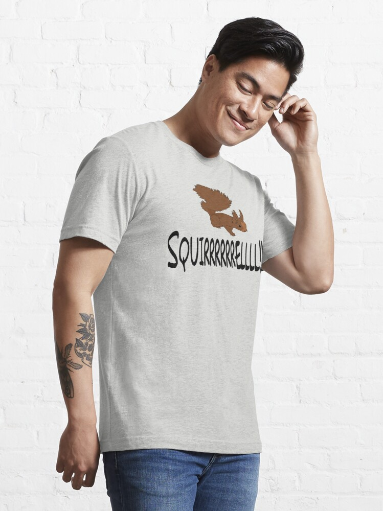 Alternate view of Christmas Vacation Quote - Squirrel!  Essential T-Shirt