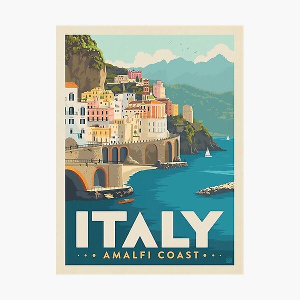 Beauty Amalfi Coast Poster Photographic Print