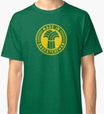Made in Saskatchewan Logo (Green & Gold) Classic T-Shirt