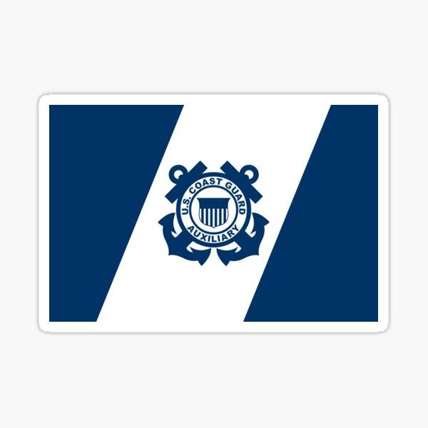 Flagge der Küstenwache der Vereinigten Staaten Sticker