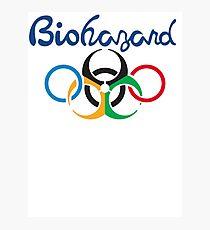 Rio Olympics - Biohazard 2016 Photographic Print