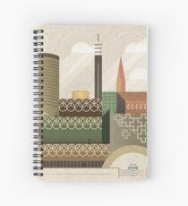 Autumn in Brum Spiral Notebook