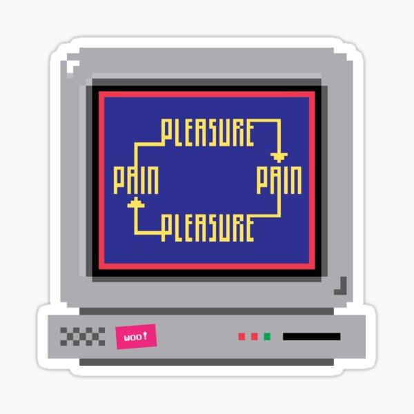 pleasure pain cycle Sticker