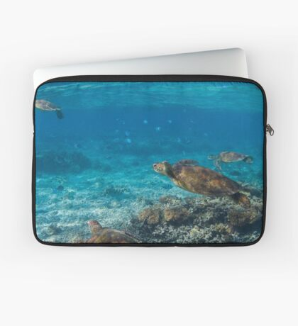 Turtle party - print Laptop Sleeve