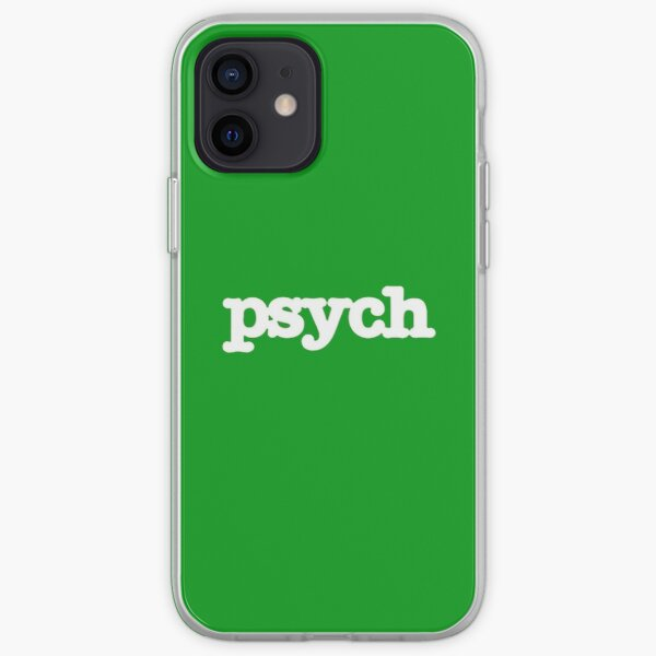 Psych iPhone Soft Case