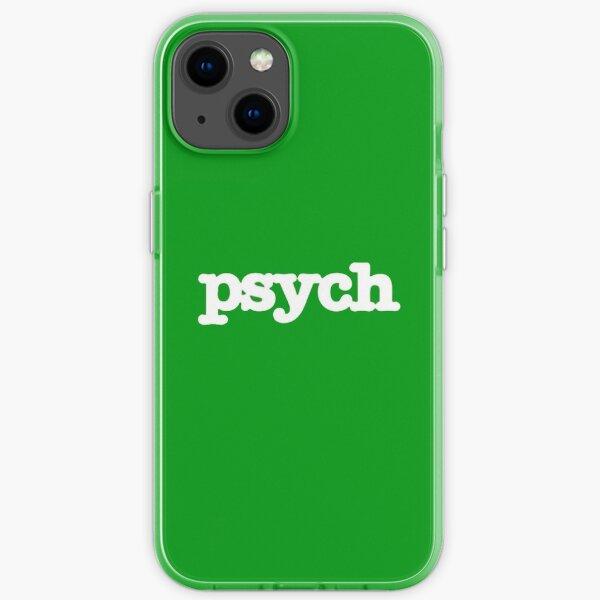 Psych iPhone Soft Case
