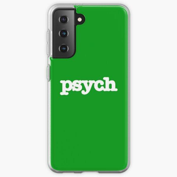 Psych Samsung Galaxy Soft Case