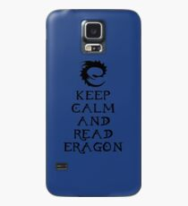 Keep calm and read Eragon (Black text) Case/Skin for Samsung Galaxy