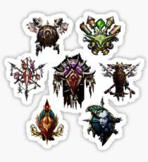 For the Horde! Sticker