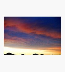 Texas Sunset Photographic Print