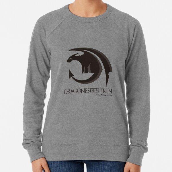 Dragons on a Train Lightweight Sweatshirt