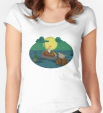 Guybrush Threepwood Women's Fitted Scoop T-Shirt