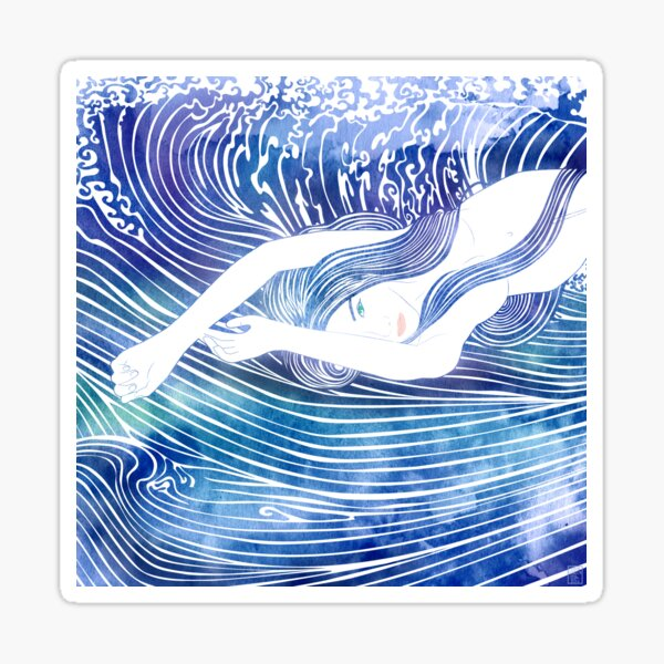 WATER NYMPH LVIII Sticker