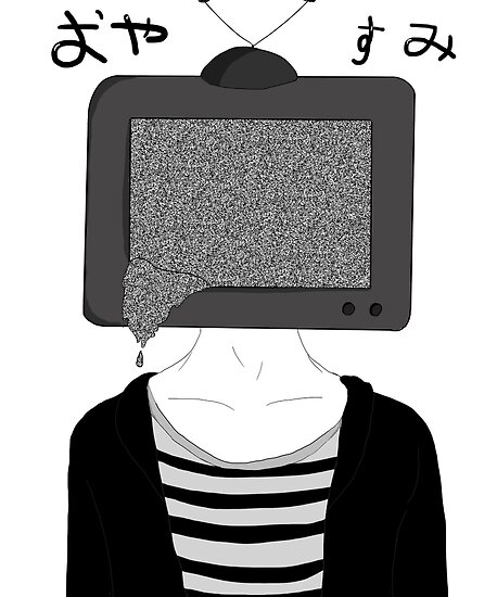tv head anime boy by mewccin