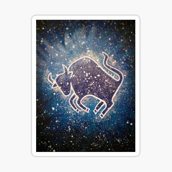 Stier, Sternzeichen Sticker