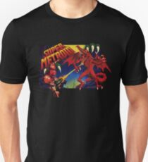 Super Metroid Box Art T-Shirt