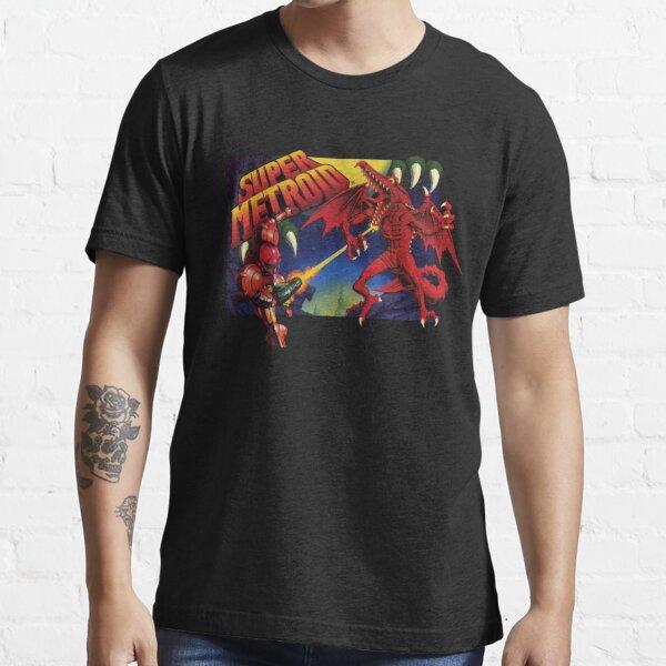 Super Metroid Box Art T-shirt essentiel