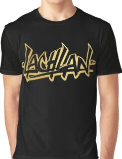 Lachlan | LIMITED EDITION! | GOLD FOIL TSHIRT | NEW! | HIGH QUALITY! Graphic T-Shirt