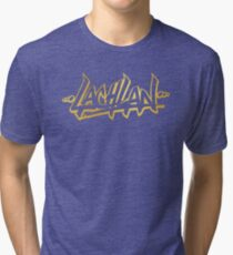 Lachlan | LIMITED EDITION! | GOLD FOIL TSHIRT | NEW! | HIGH QUALITY! Tri-blend T-Shirt
