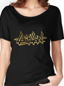 Lachlan | LIMITED EDITION! | GOLD FOIL SWEATSHIRT | NEW! | HIGH QUALITY! Women's Relaxed Fit T-Shirt