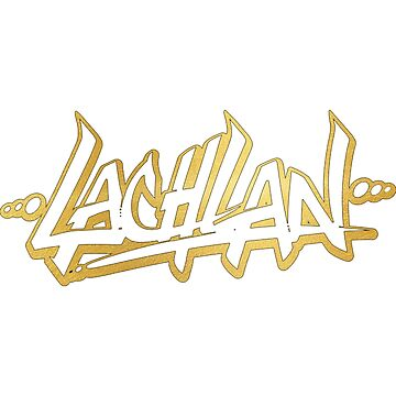 Lachlan | LIMITED EDITION! | GOLD FOIL SWEATSHIRT | NEW! | HIGH QUALITY! by OfficialLachlan