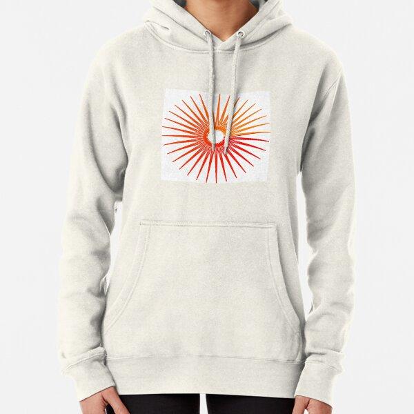 Sunburst From A Digital Star Pullover Hoodie