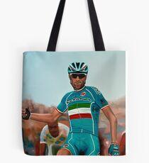 Vincenzo Nibali Painting Tote Bag