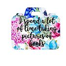 Floral Bookstagram by TheYABookaholic