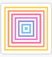 Lularoe Square Rainbow Sticker