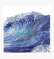 Pacific Waves Photographic Print