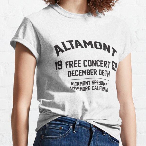 Altamont free concert  Festival 1969 Classic T-Shirt