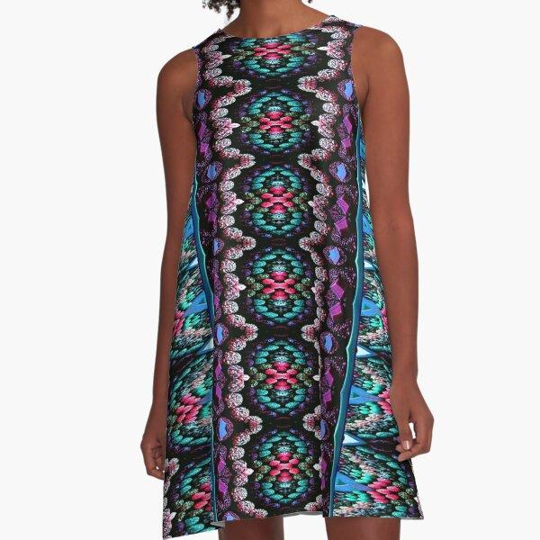 Victorian Crochet 2 A-Line Dress