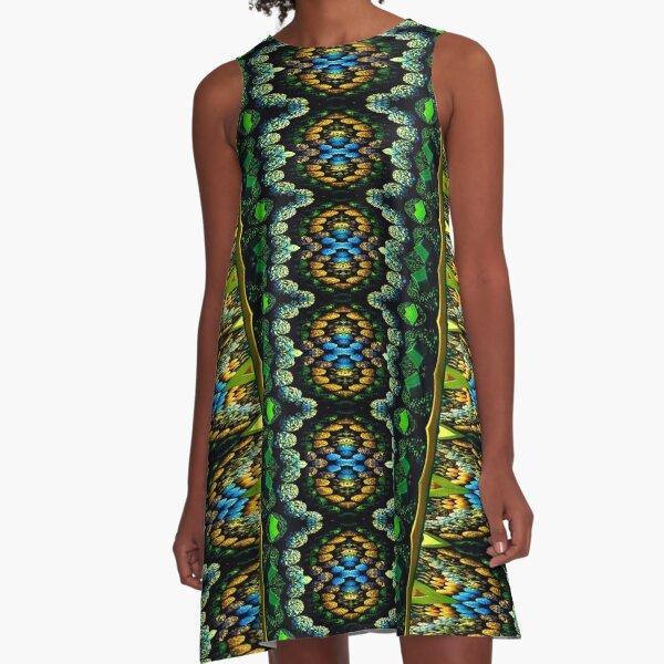 Victorian Crochet 3 A-Line Dress